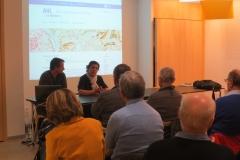 La présentation de l'Atlas Historique par le CRIHAM