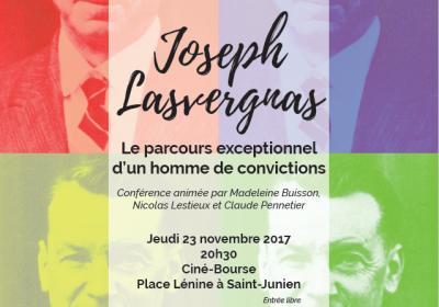 Conférence : Joseph Lasvergnas