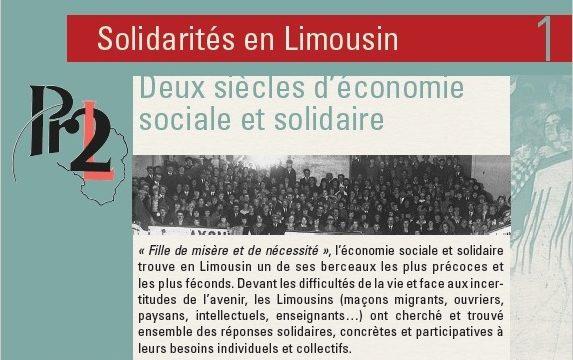 Solidarités en Limousin, deux siècles d'ESS