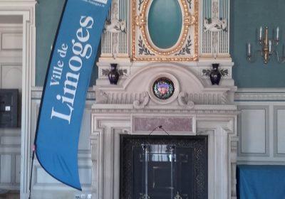 Inauguration de l'exposition itinérante à Limoges